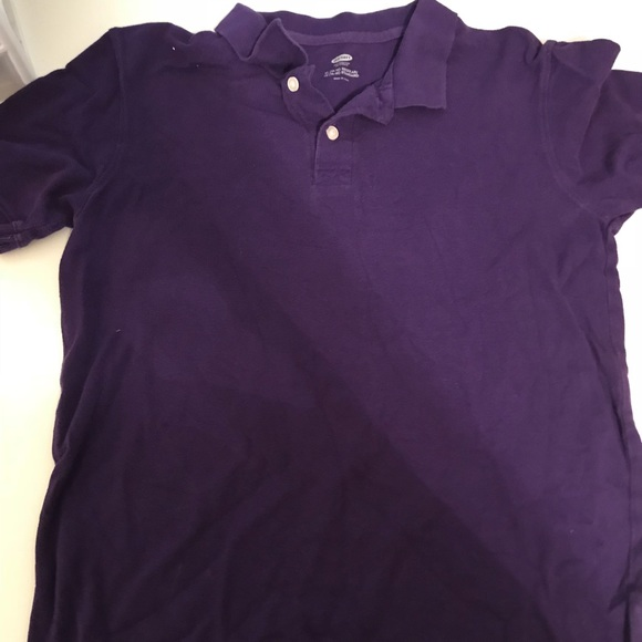 Old Navy Shirts Tops Purple School Polo Shirt Poshmark